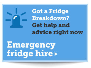 Emergency Fridge Hire