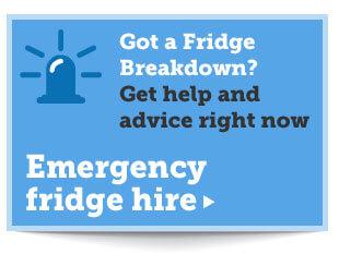 Emergency Fridge Hire