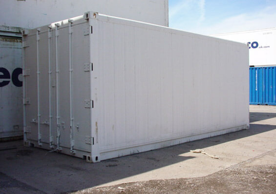 Refrigerated Container Exterior