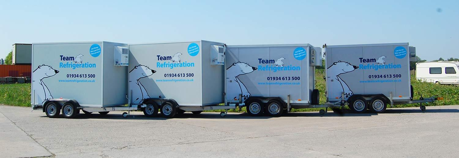 Rent Refrigerated Trailers