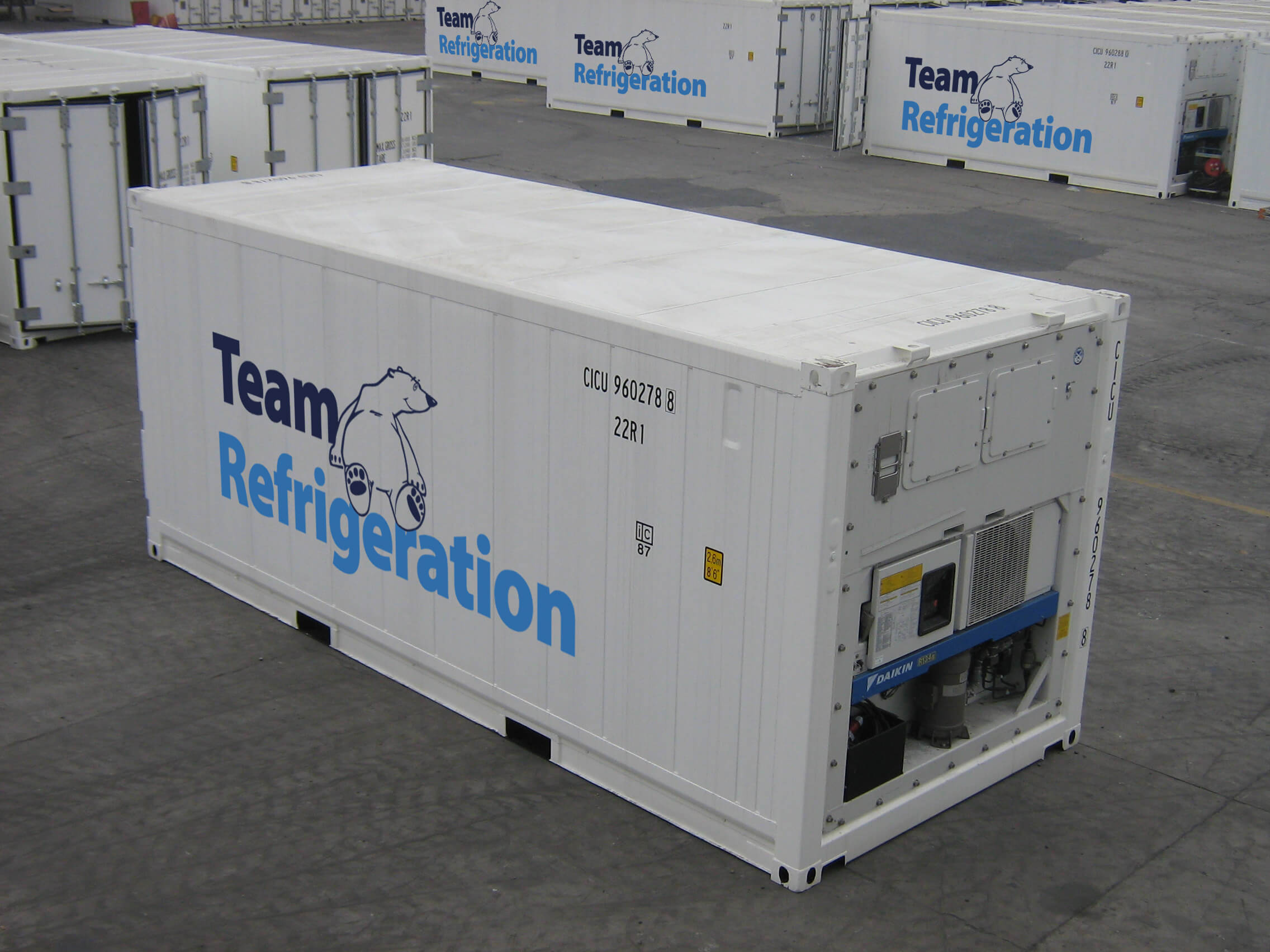 20ft Refrigerated Container for Hire