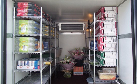 What can I store in a refrigerated trailer?