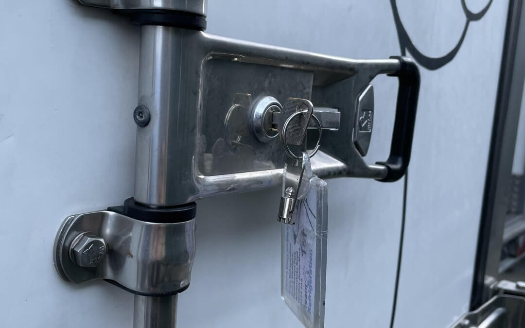 Is a refrigerated trailer secure?