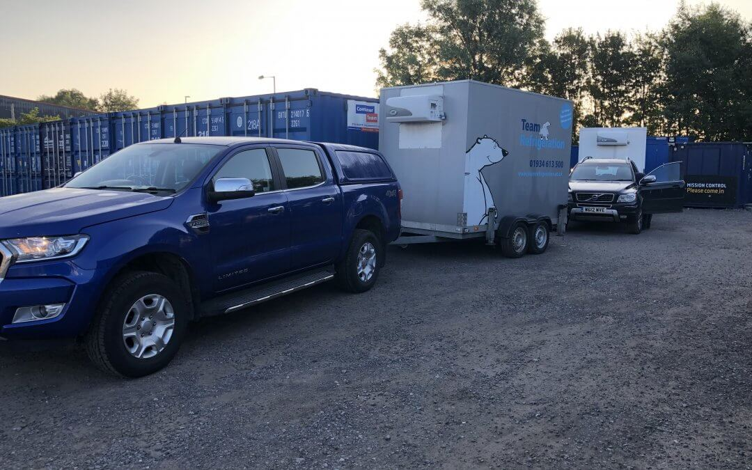 Can I use a refrigerated trailer to transport stock?