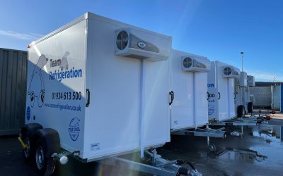 New Refrigerated Trailers Delivered