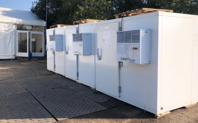 Modular Cold Room Hire